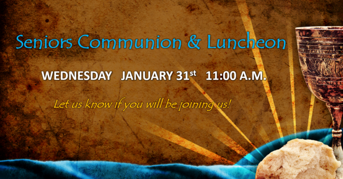 Seniors Communion & Luncheon image