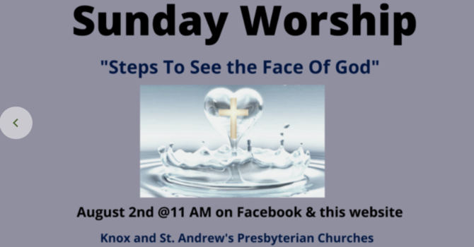 Steps to Seeing God's Face