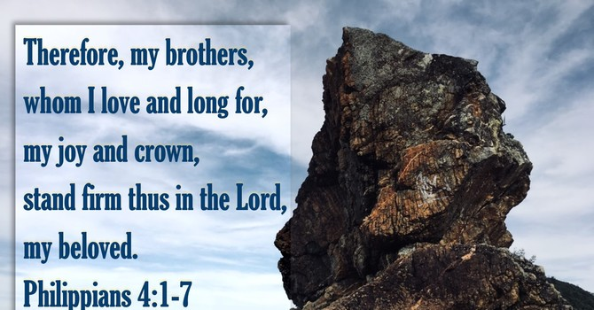Stand Firm In the Lord
