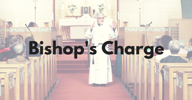 Bishop's Charge to 2016 Synod