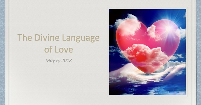 The Divine Language of Love