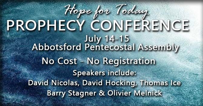 Hope for Today - Prophecy Conference image