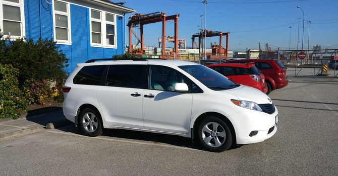 New mini-van for the Waterfront Centre image