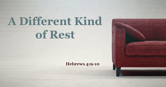A Different Kind of Rest