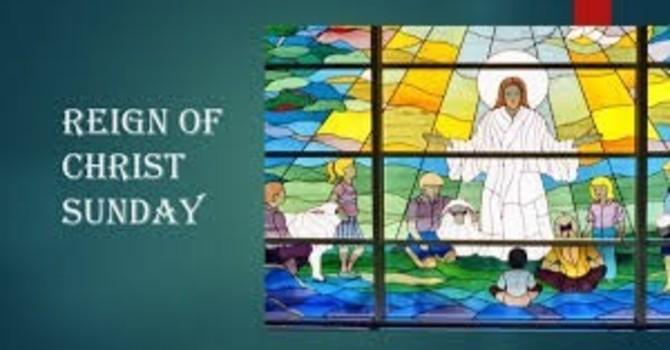 Reign of Christ Sunday image