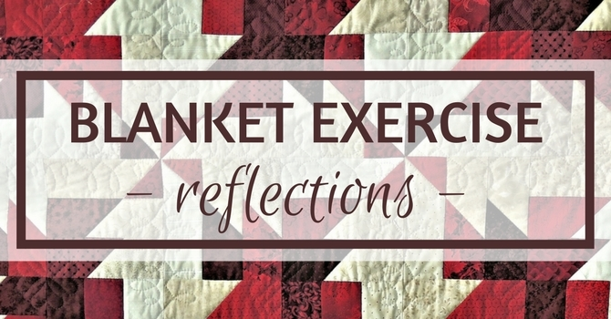 Blanket Exercise: Reflections image
