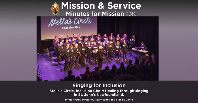 Minute for Mission: Singing for Inclusion image