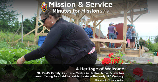 Minute for Mission: A Heritage of Welcome image