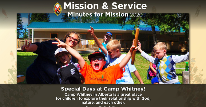 Minute for Mission: Special Days at Camp Whitney image