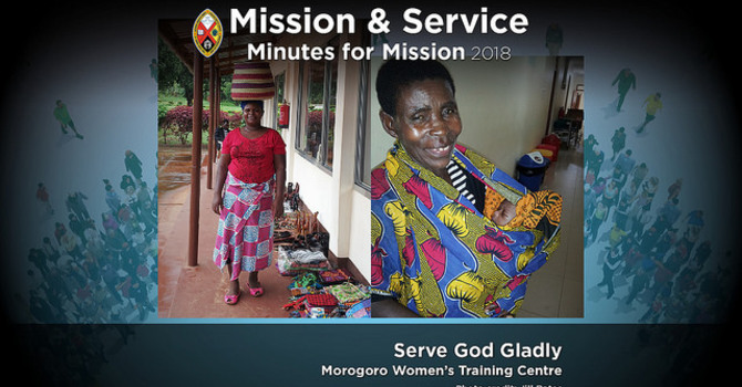 Minute for Mission: Serve God Gladly image