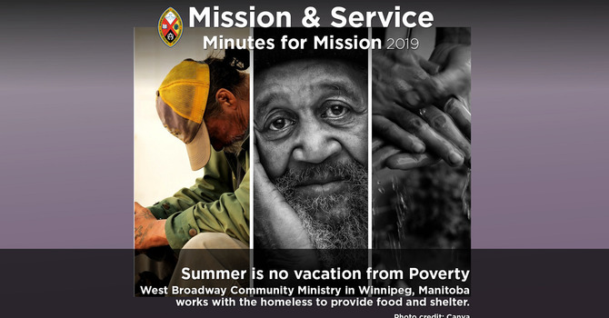 Minute for Mission: Summer is No Vacation from Poverty image