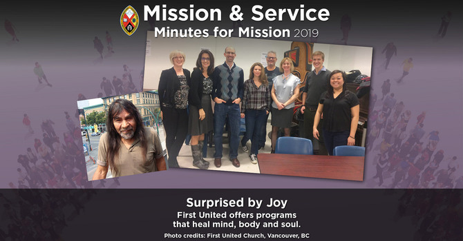Minute for Mission: Surprised by Joy image