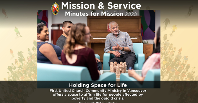 Minute for Mission: Holding Space for Life image