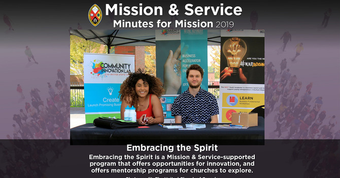Minute for Mission: Embracing the Spirit image