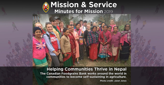 Minute for Mission: Helping Communities Thrive in Nepal image