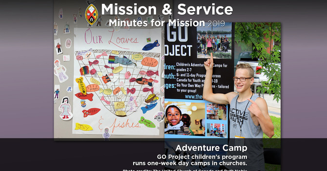 Minute for Mission: Adventure Camp