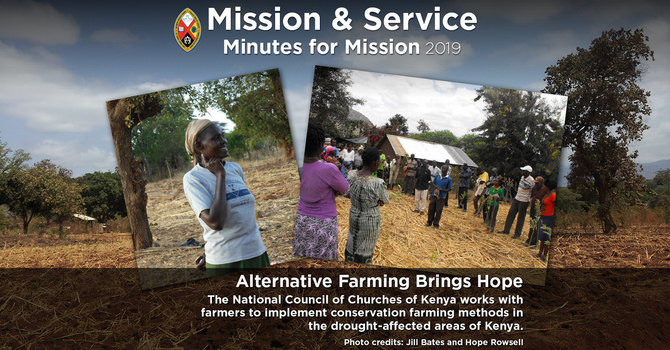 Minute for Mission: Alternative Farming Brings Hope image
