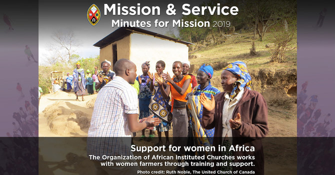 Minute for Mission: Support for Women in Africa