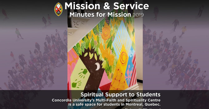 Minute for Mission: Spiritual Healing for Students