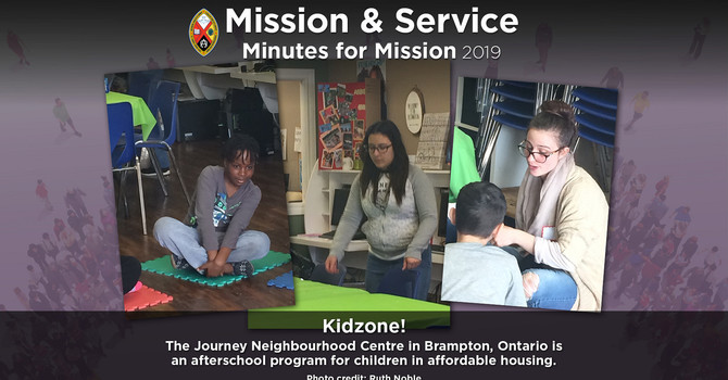Minute for Mission: KidZone!