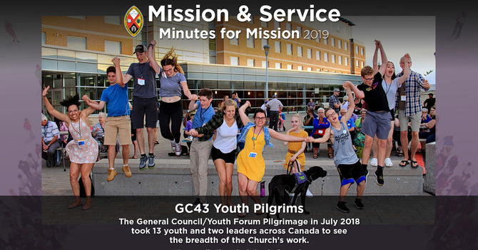 Minute for Mission: Youth Pilgrims image