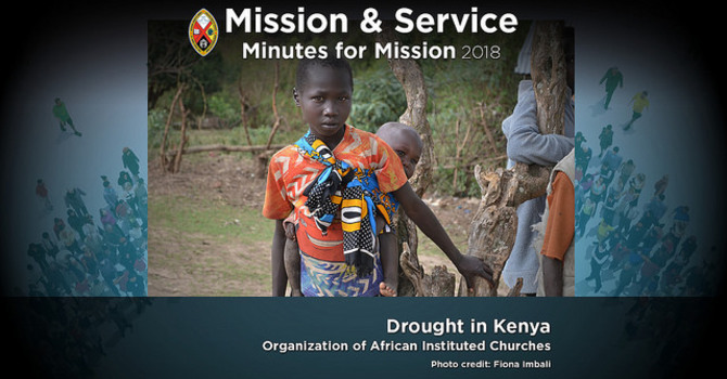 Minute for Mission: Drought in Kenya image