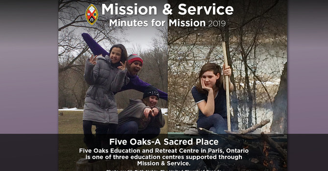 Minute for Mission: Five Oaks – A Sacred Place