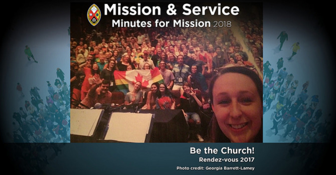 Minute for Mission: Rendez-vous 2017: Be the Church! image