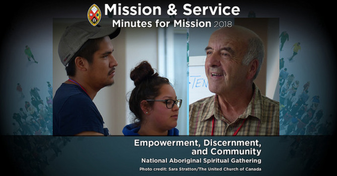 Minute for Mission: Empowerment, Discernment, and Community! image