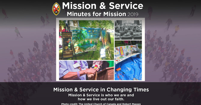 Minute for Mission: Mission & Services in Changing Times image