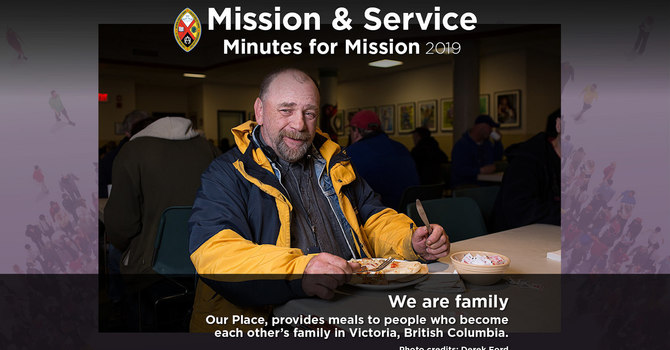 Minute for Mission: We Are Family