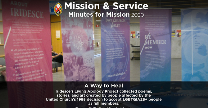 Minute for Mission: A Way to Heal