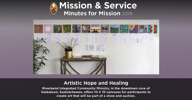 Minute for Mission: Artistic Hope and Healing image