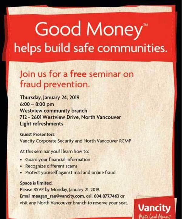 Free Seminar on Fraud Prevention