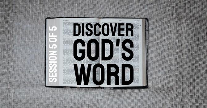 Discover God's Word: MEDITATING image