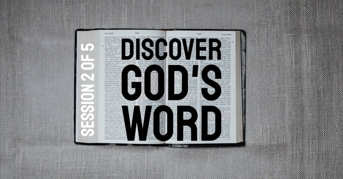 Discover God's Word: READING image