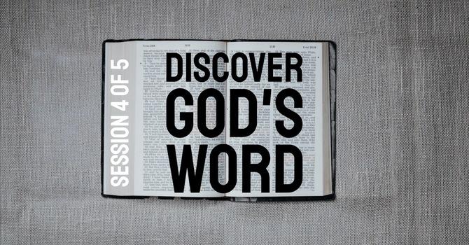 Discover God's Word: MEMORIZING image