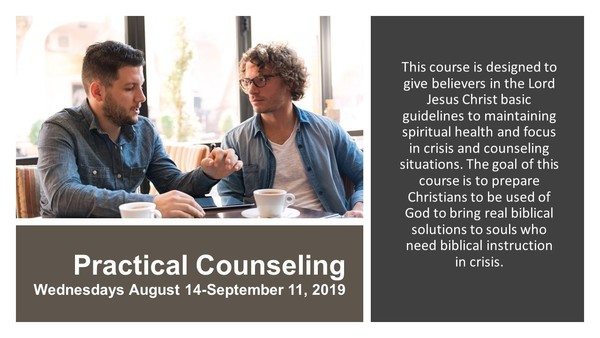 Practical Counseling Course