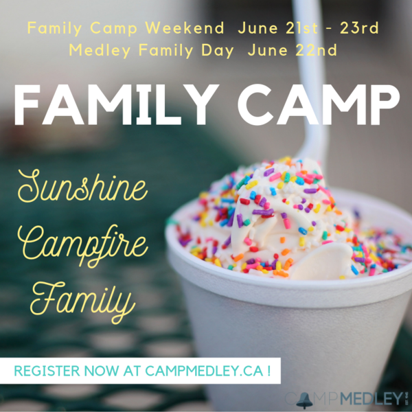 Family Camp is almost here!