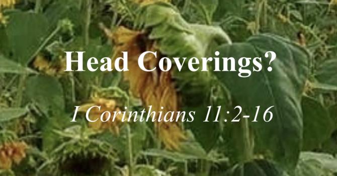 Head Coverings?