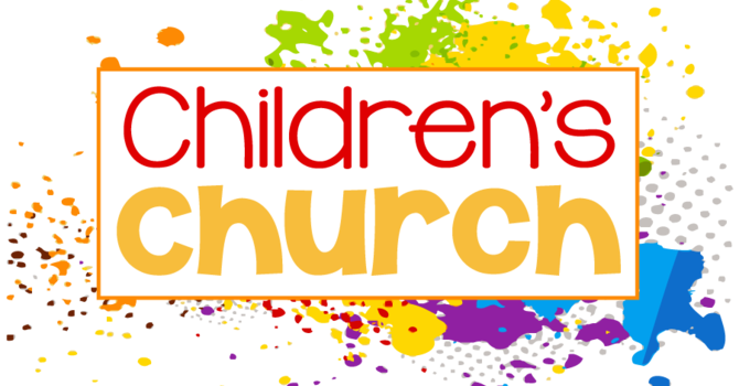 Children's church is back! image