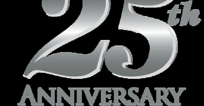25th Anniversary image