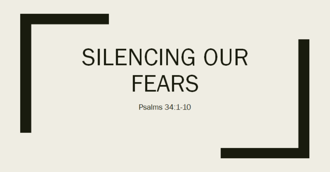 Silencing our fears