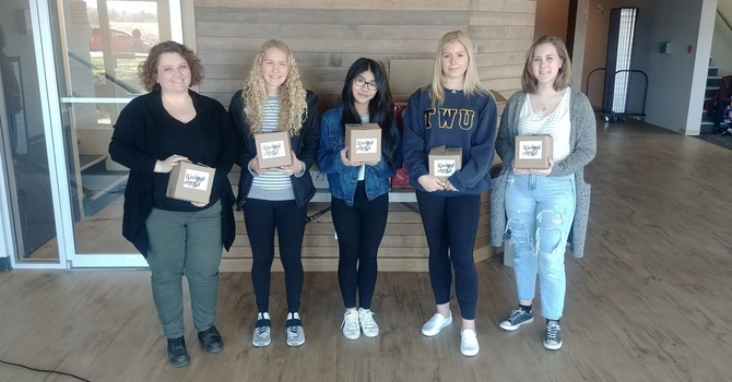 Salish Secondary Students Donate Packages for Shelter  image