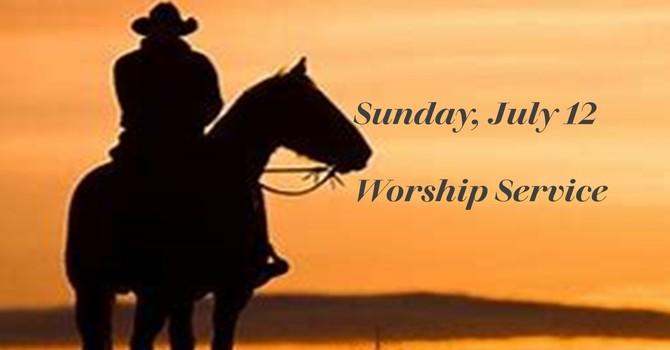 Sunday, July 12 Worship Service image