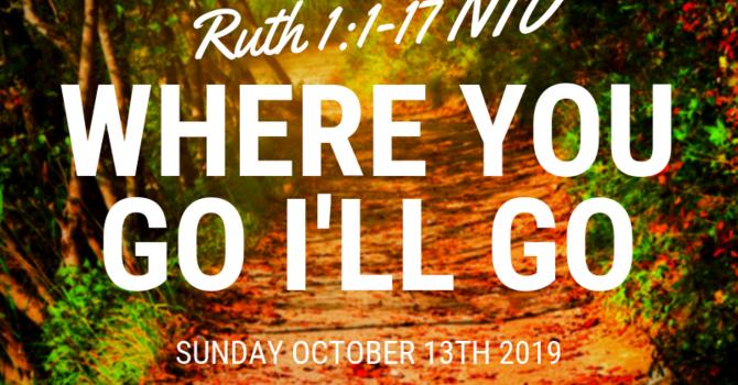 Sunday Bulletin - October 13, 2019 image