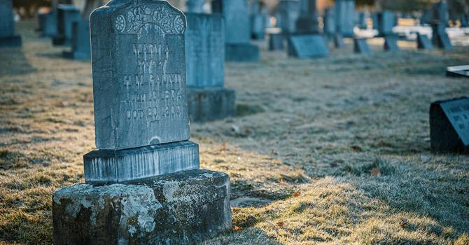 Praying for the Souls of the Faithful Departed image
