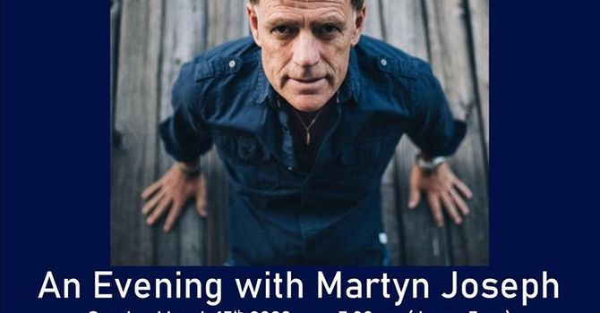 An Evening with Martyn Joseph image