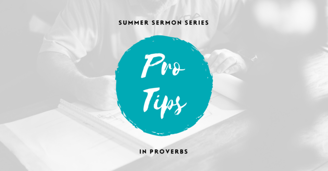 Pro Tips on Friendship, Proverbs, and Stories