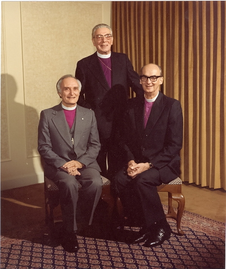 The Bishops of the Diocese of New Westminster